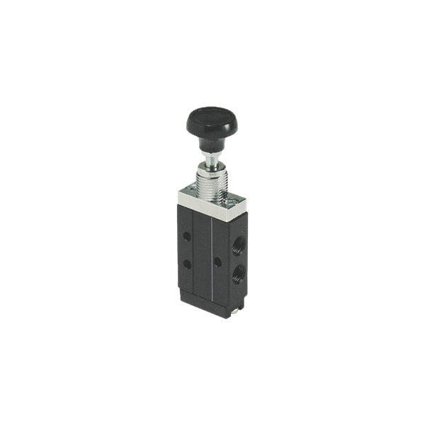 1//8 NPT 1//8 NPT 4-Way Parker 410931000 Manual Air Control Valve