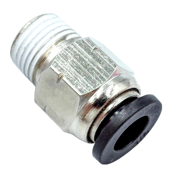 HONJIE Push-to-Connect Air Fitting 1//2 Straight Plastic 12mm Push to Connect Fittings 12mm-12mm-16pcs