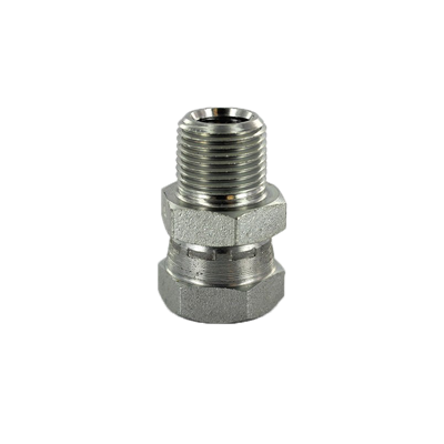 "MALE PIPE ADAPTER 1/2"" MALE NPTF X"