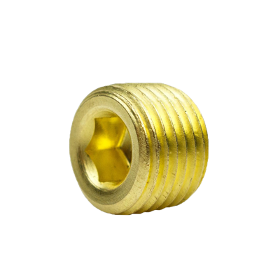 COUNTERSUNK HEX PLUG 3/8""