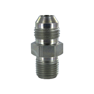 "MALE CONNECTOR -6 MJIC X 3/8""NPT STEEL"