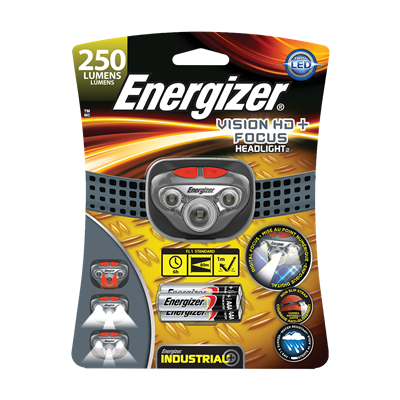 ENERGIZER VISION HD+ FOCUS LED HEADLIGHT