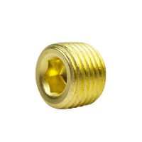 COUNTERSUNK HEX PLUG 1/4""