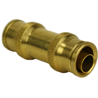 "TUBE UNION 5/8""OD X 1/2""ID DOT BRASS"