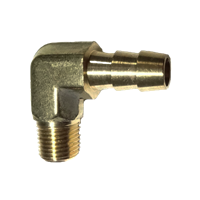 "MALE BARBED ELBOW 3/8"" X 1/4""NPT"